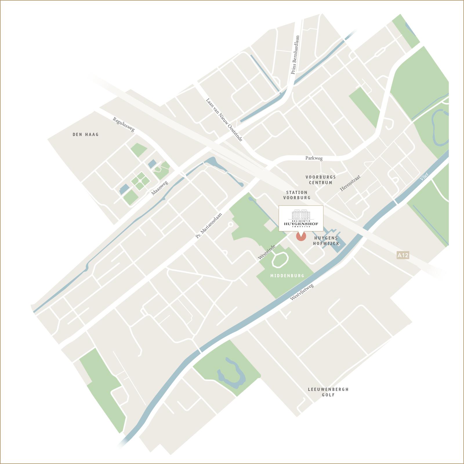Locatie Residentie Huygenshof
